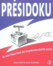 Presidoku - Intérieur - Format classique