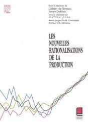 Les nouvelles rationalisations de la production - Couverture - Format classique