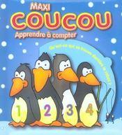 Maxi Coucou ; Apprendre A Compter - Intérieur - Format classique