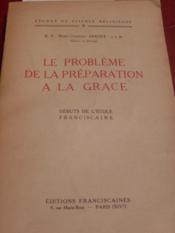 Le Problème de la préparation à la Grâce. - Couverture - Format classique