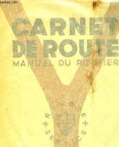 Carnet De Route - Couverture - Format classique