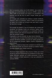 À vos maths ; 12 ans de sujets ; concours EDHEC ECE (1996-2007) - 4ème de couverture - Format classique