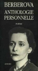 Anthologie personnelle ; 1921-1983 - Couverture - Format classique