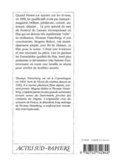 Festen - 4ème de couverture - Format classique