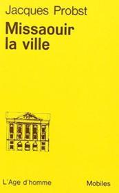 Missaouir La Ville O10 - Couverture - Format classique