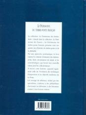 Le Patrimoine Du Timbre-Poste Francais - 4ème de couverture - Format classique