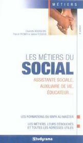 Les metiers du social (4e edition) - Intérieur - Format classique
