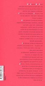 Effets indesirables - 4ème de couverture - Format classique