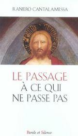 Passage A Ce Qui Ne Passe Pas - Intérieur - Format classique