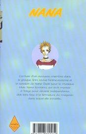 Nana t.3 - 4ème de couverture - Format classique