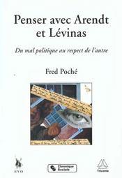 Penser avec arendt et levinas - Intérieur - Format classique