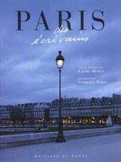 Paris Des Ecrivains - Intérieur - Format classique