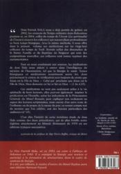 Méditations sur les oraisons du temps de Noël - 4ème de couverture - Format classique