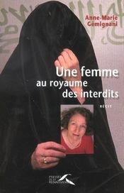 Une femme au royaume des interdits - Intérieur - Format classique