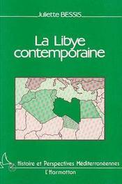 La Libye Contemporaine - Intérieur - Format classique