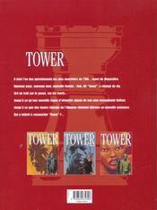 Tower t.3 ; cavalier seul - 4ème de couverture - Format classique