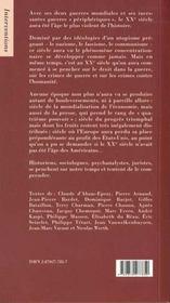 Les tumultes d'un siecle - 4ème de couverture - Format classique