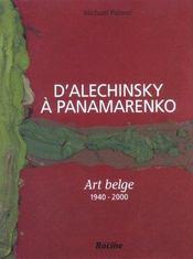 Alechinsky, Broodthaers, Bury et les autres - Intérieur - Format classique