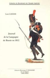 Journal De La Campagne De Russie En 1812 - Couverture - Format classique