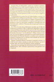 Bataille d'Alger, bataille de l'homme - 4ème de couverture - Format classique