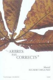 Des arbres pas corrects - Intérieur - Format classique