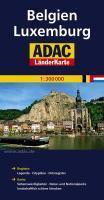 Belgien luxemburg 1/250 000 - Couverture - Format classique
