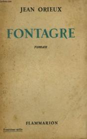 Fontagre. - Couverture - Format classique
