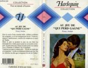 Au Jeu De Qui Perd Gagne - Rules Of The Game - Couverture - Format classique