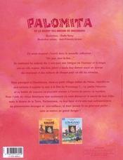 Palomita - 4ème de couverture - Format classique