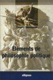 Éléments de philosophie politique - Intérieur - Format classique