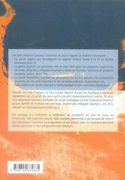 Aide-mémoire de mathématiques pour les ECS-ECE 1ère et 2e année - 4ème de couverture - Format classique