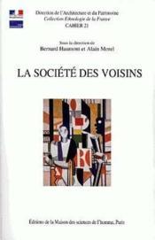 La Societe Des Voisins ; Partager Un Habitat Collectif - Couverture - Format classique
