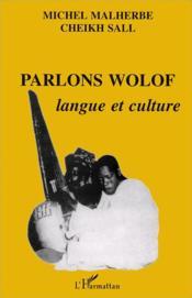 Parlons wolof - Couverture - Format classique