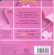 Rose - 4ème de couverture - Format classique