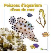 Poissons d'aquarium d'eau de mer - Couverture - Format classique