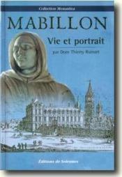 Mabillon ; vie et portrait - Couverture - Format classique