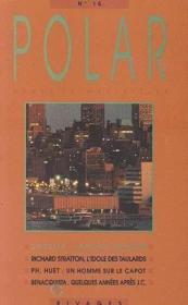Revue Polar N.15 ; Dossier : Jérôme Charyn - Couverture - Format classique