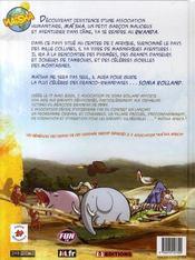 Les aventures de maïsha - 4ème de couverture - Format classique