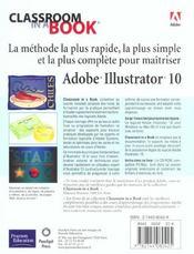 Peachpit Ciab Illustrator 10 - 4ème de couverture - Format classique