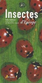 Insectes d'europe - Couverture - Format classique