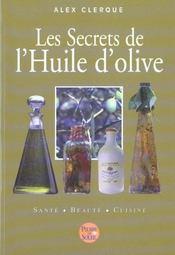Les secrets de l huile d olive - Intérieur - Format classique