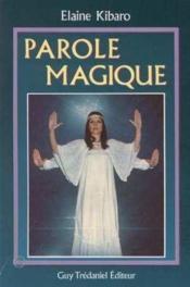 Paroles Magiques - Couverture - Format classique
