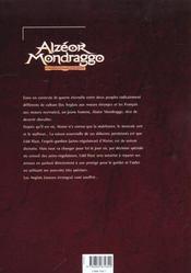 Le Premier Chevalier Astro-Regule - 4ème de couverture - Format classique