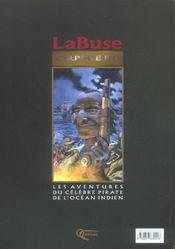 La Buse Et La Vierge Du Cap - 4ème de couverture - Format classique