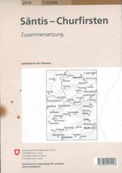 Santis-Churfirsten - 4ème de couverture - Format classique