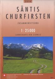 Santis-Churfirsten - Couverture - Format classique