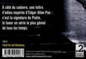 Le poète - 4ème de couverture - Format classique