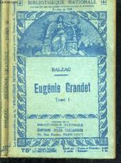 Eugenie Grandet - Tome Premier + Tome Second. - Couverture - Format classique