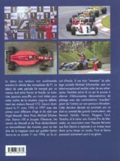 Vol.5 : Les Grands Constructeurs 1989-2000 - 4ème de couverture - Format classique