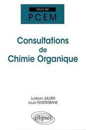Cours de consultations de chimie organique - Intérieur - Format classique